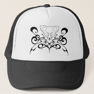 Tribal Fox Trucker Hat