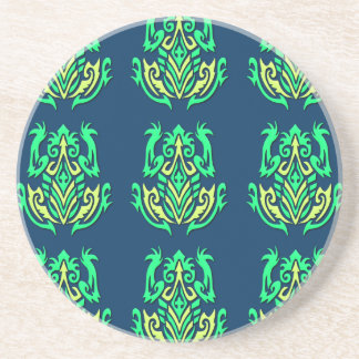 Tribal Frogs coaster
