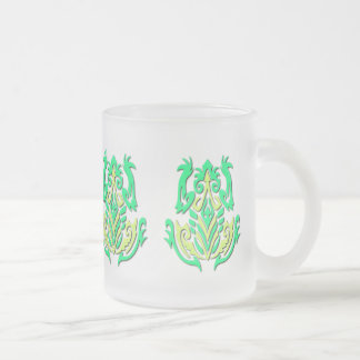 Tribal Frogs mug - choose style & color