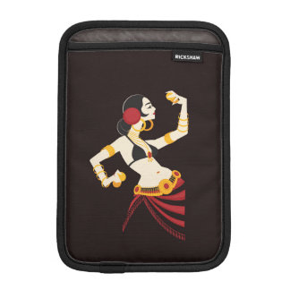 tribal fusion belly dancer with cymbals iPad mini sleeve