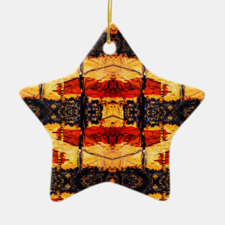 Tribal Fusion Christmas Ornament