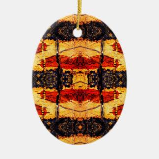 Tribal Fusion Christmas Ornament