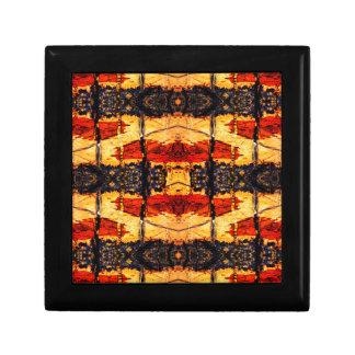 Tribal Fusion Small Square Gift Box
