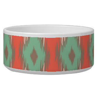 Tribal geometric diamond stripes Aztec pattern