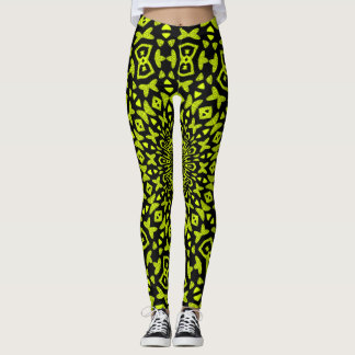 Tribal Gold Leggings