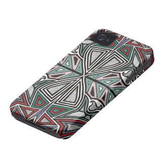 Tribal Graffiti Barely There ID/Credit Card iphone iPhone 4 Cases