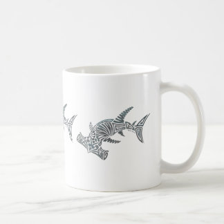 Tribal Hammerhead Shark Wrap Mug