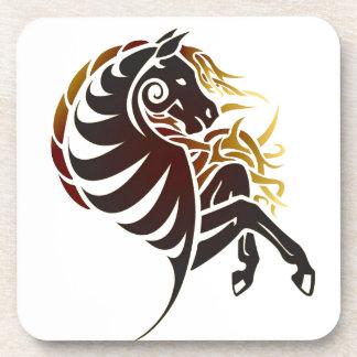 Tribal Horse Coaster