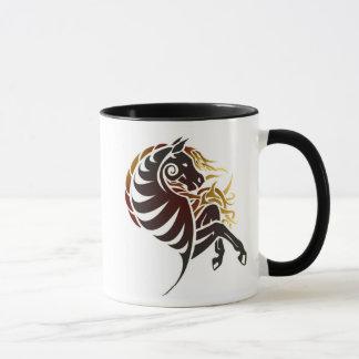 Tribal Horse Mug