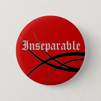 tribal, Inseparable 6 Cm Round Badge