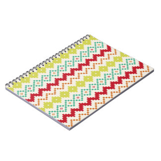 Tribal Inspired Pattern Notebook