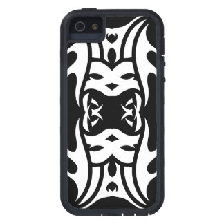 Tribal iphone 11 white to over black case for the iPhone 5