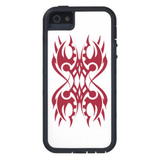 Tribal iphone 18 network to over white tough xtreme iPhone 5 case