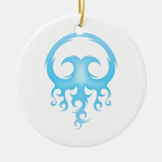 Tribal Jelly Christmas Ornament