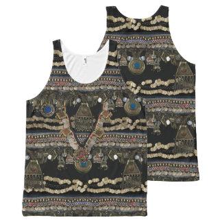 Tribal Kuchi Belly Dance All-Over Print Tank Top
