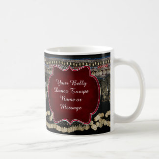 Tribal Kuchi Belly Dance Customized Coffee Mug