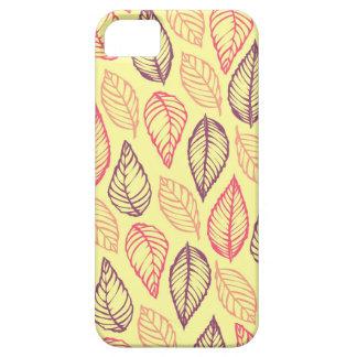 Tribal leaves batik rustic chic nature pattern iPhone 5 cover
