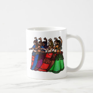 Tribal Line Belly Dancers Mug