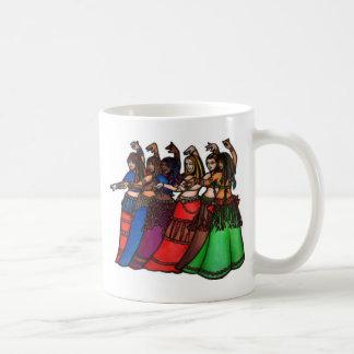 Tribal Line Belly Dancers Mug