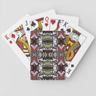 Tribal Lines 1 Playing Cards