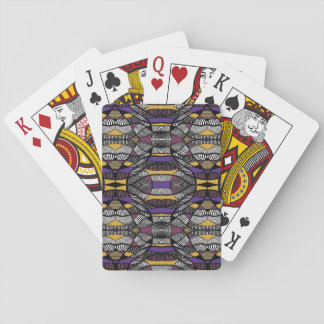 Tribal Lines 2 Playing Cards