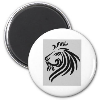 TRIBAL LION REFRIGERATOR MAGNET