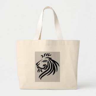 TRIBAL LION CANVAS BAGS