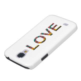 Tribal Love Word Art HTC Vivid / Raider 4G Cover