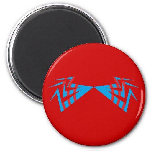 tribal fridge magnet