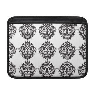 "Tribal Mask - Macbook Air 13"" Horizontal MacBook Air Sleeve"