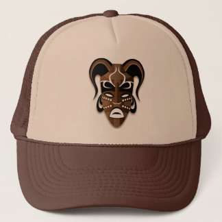 TRIBAL MASK Trucker Hat