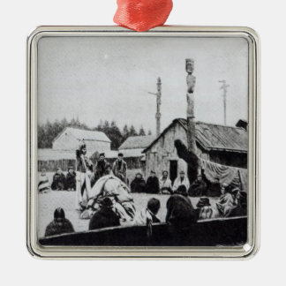 Tribal Meeting Christmas Ornament