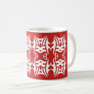 Tribal mug 11 white to over network