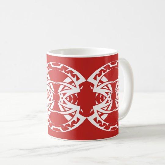 Tribal mug 15 white to over network