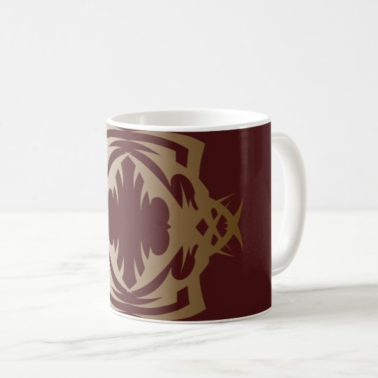 Tribal mug 16 Golden Delicious ones over network