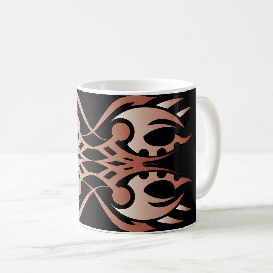 Tribal mug 18 network to over black 2