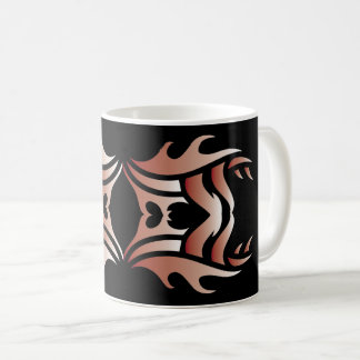 Tribal mug 3 network and white