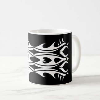 Tribal mug 4 black and white
