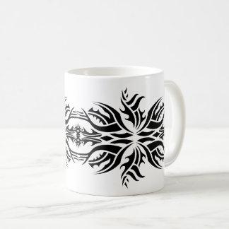 Tribal mug 5 black and white