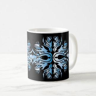 Tribal mug 6 blue