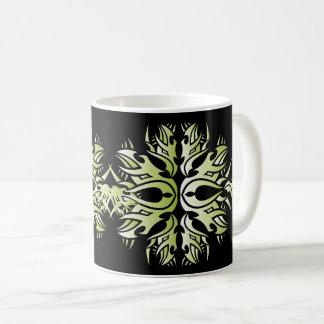 Tribal mug 6 green