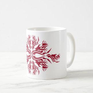 Tribal mug 6 one network to over white