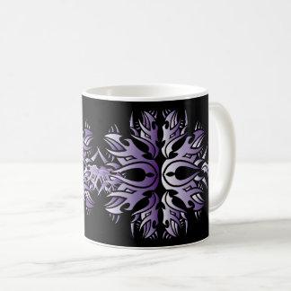 Tribal mug 6 purple