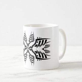 Tribal mug 7 black and white