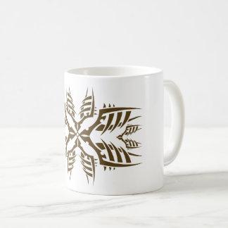 Tribal mug 7 gold