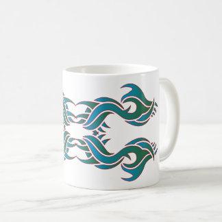 Tribal mug 8 colors to over white