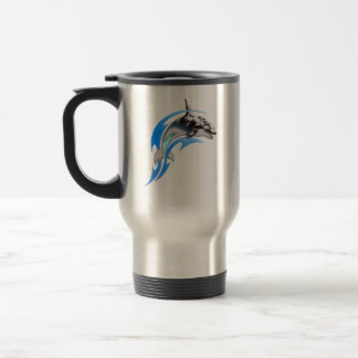 Tribal Orca Travel Mug