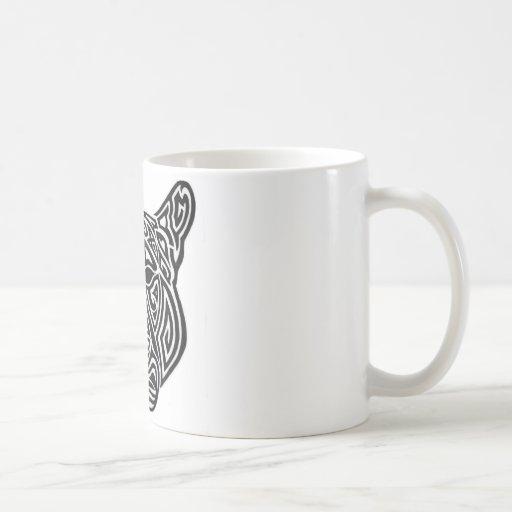 Tribal Panther Basic White Mug