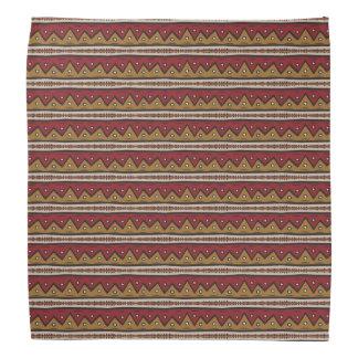 Tribal pattern bandana