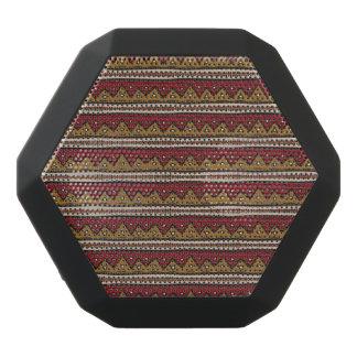 Tribal pattern black bluetooth speaker